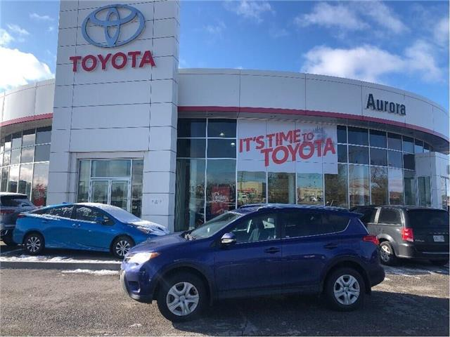 2015 Toyota RAV4 LE (Stk: 6619) in Aurora - Image 1 of 12