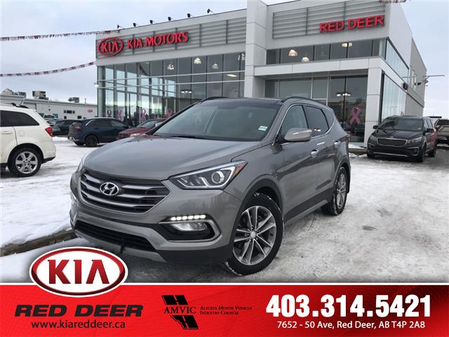 2018 Hyundai Santa Fe Sport 2.0T Limited (Stk: L7634) in Red Deer - Image 1 of 23