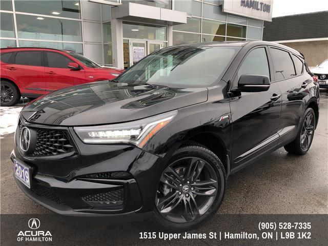 2019 Acura RDX A-Spec (Stk: 1917720) in Hamilton - Image 1 of 35
