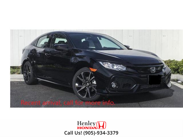 2017 Honda Civic Hatchback BLUETOOTH | HEATED SEATS | BACK UP | ALLOYS (Stk: R9638) in St. Catharines - Image 1 of 1