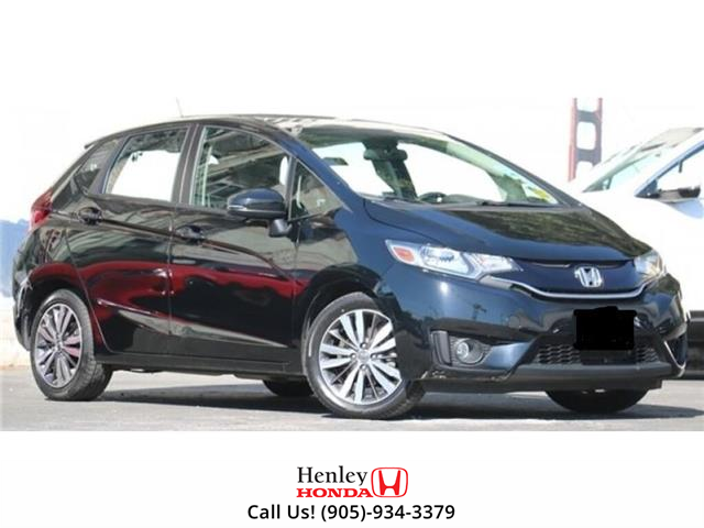 2016 Honda Fit NAV | LEATHER | BLUETOOTH | BACK UP | HEATED SEATS (Stk: R9640) in St. Catharines - Image 1 of 1