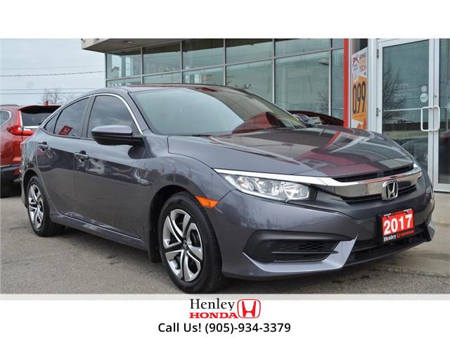 2017 Honda Civic Sedan BLUETOOTH | HEATED SEATS | BACK UP CAMERA | (Stk: R9614) in St. Catharines - Image 1 of 18