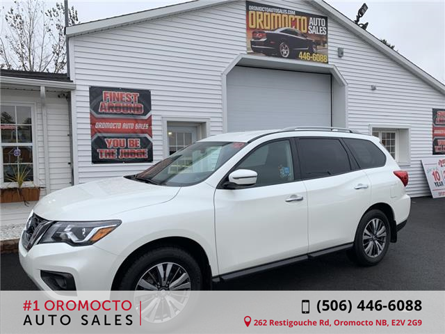 2019 Nissan Pathfinder SV Tech (Stk: 114) in Oromocto - Image 1 of 14