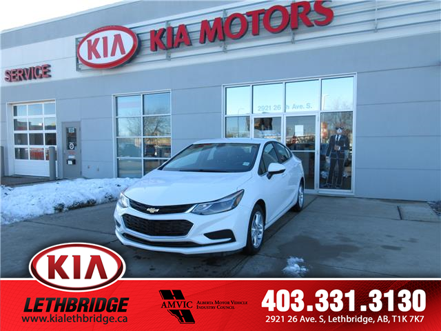 2018 Chevrolet Cruze LT Auto (Stk: P2621) in Lethbridge - Image 1 of 16