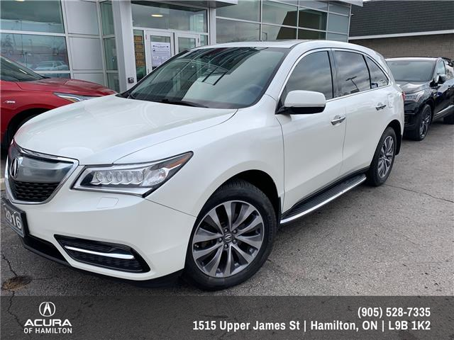 2016 Acura MDX Navigation Package (Stk: 1601902) in Hamilton - Image 1 of 37