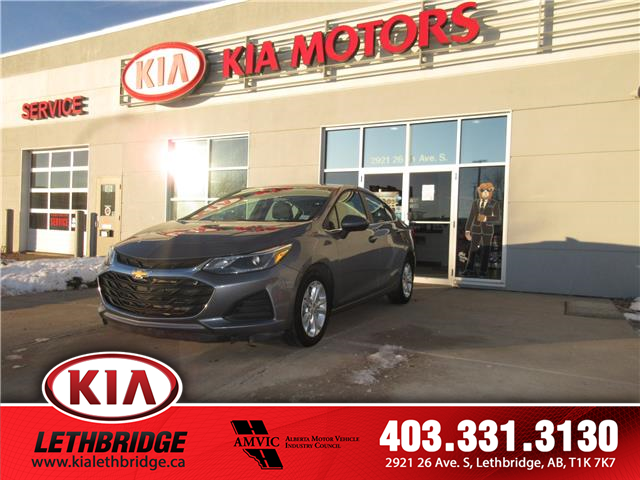 2019 Chevrolet Cruze LT (Stk: P2622) in Lethbridge - Image 1 of 18