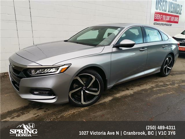 2020 Honda Accord Sport 1.5T (Stk: H00878) in North Cranbrook - Image 1 of 2