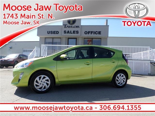 2015 Toyota Prius c Base (Stk: 1780541) in Moose Jaw - Image 1 of 21