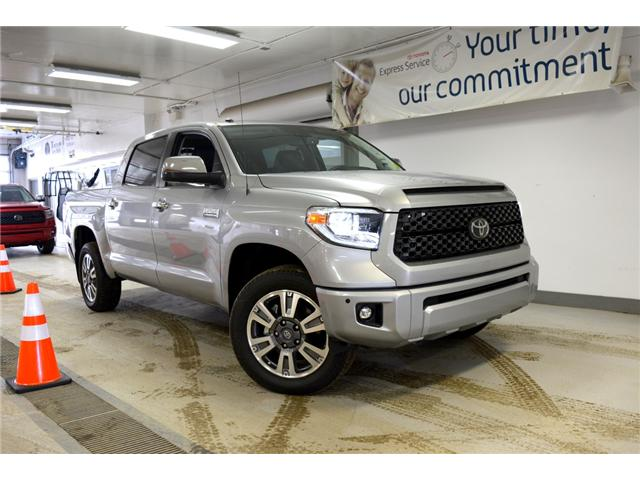 2018 Toyota Tundra Platinum 5.7L V8 (Stk: 189013) in Moose Jaw - Image 1 of 28