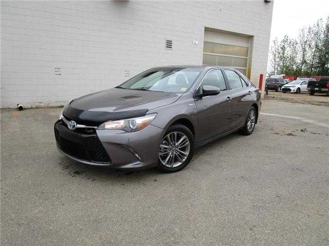 2017 Toyota Camry Hybrid SE (Stk: 6915) in Moose Jaw - Image 1 of 24