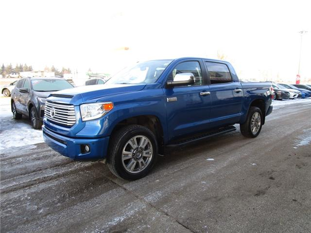 2017 Toyota Tundra Platinum 5.7L V8 (Stk: 1990372) in Moose Jaw - Image 1 of 27