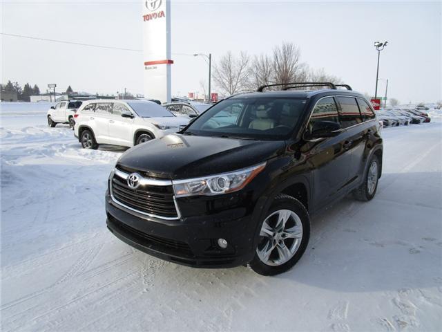 2015 Toyota Highlander Limited (Stk: 92914) in Moose Jaw - Image 1 of 36