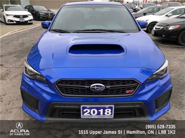 2018 Subaru WRX STI Sport-tech w/Lip (Stk: 1818160) in Hamilton - Image 2 of 32
