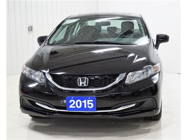 2015 Honda Civic EX (Stk: P5627) in Sault Ste. Marie - Image 1 of 23