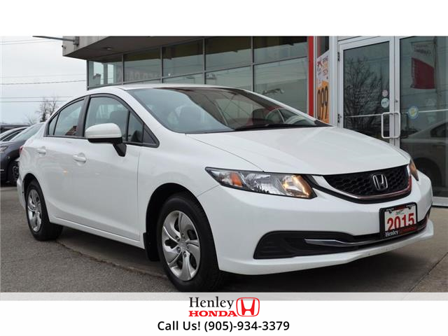 2015 Honda Civic Sedan HEATED SEATS | BACK UP CAMERA | BLUETOOTH (Stk: R9642) in St. Catharines - Image 1 of 26