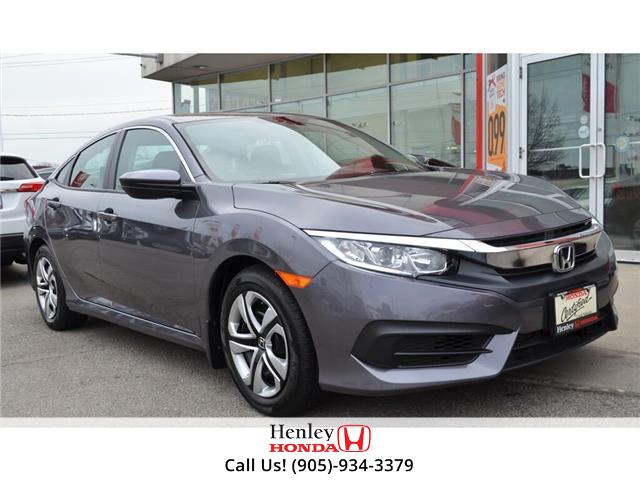 2017 Honda Civic Sedan BLUETOOTH | HEATED SEATS | BACK UP CAMERA | (Stk: R9623) in St. Catharines - Image 1 of 23