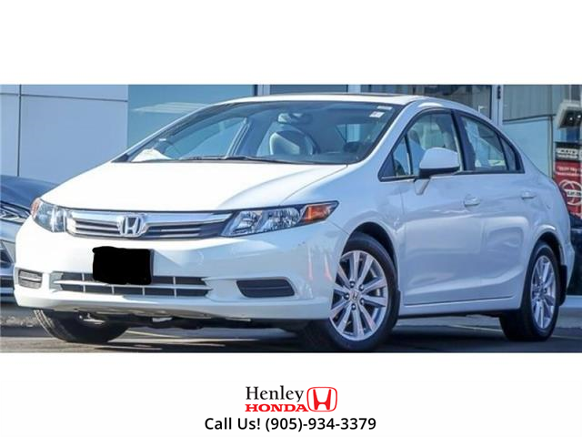 2012 Honda Civic SUNROOF | ALLOY WHEELS | BLUETOOTH (Stk: B0916A) in St. Catharines - Image 1 of 1