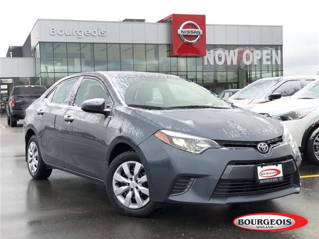 2015 Toyota Corolla CE (Stk: 20RG25A) in Midland - Image 1 of 16