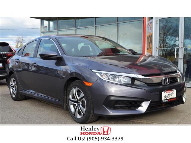 2017 Honda Civic Sedan BLUETOOTH | HEATED SEATS | BACK UP (Stk: R9641) in St. Catharines - Image 1 of 19