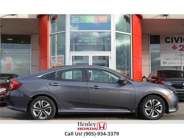 2017 Honda Civic Sedan BLUETOOTH | HEATED SEATS | BACK UP (Stk: R9641) in St. Catharines - Image 2 of 19