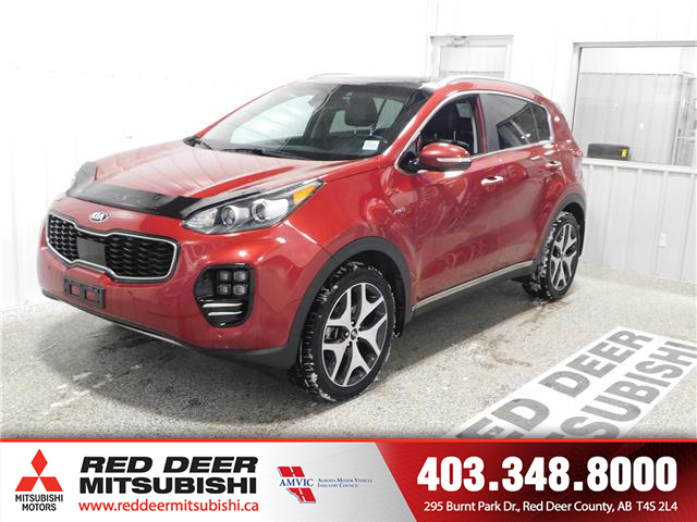 2017 Kia Sportage SX Turbo (Stk: L8646) in Red Deer County - Image 1 of 17
