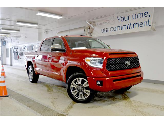 2018 Toyota Tundra Platinum 5.7L V8 (Stk: 183161) in Regina - Image 1 of 33
