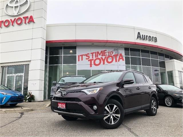 2016 Toyota RAV4 XLE (Stk: 313801) in Aurora - Image 1 of 19