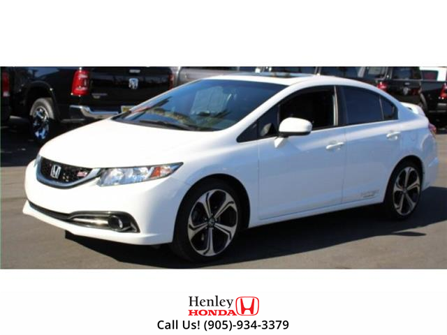 2015 Honda Civic Sedan NAV | SUNROOF | HEATED SEATS | BLUETOOTH (Stk: R9653) in St. Catharines - Image 1 of 1