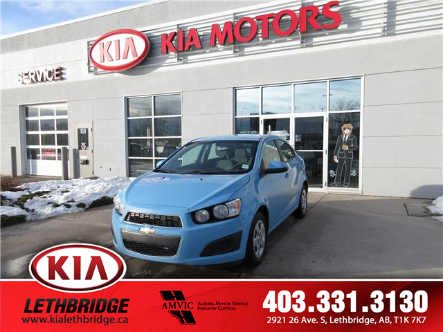 2014 Chevrolet Sonic LS Auto (Stk: 20FT8164A) in Lethbridge - Image 1 of 17