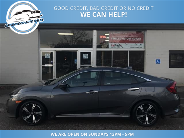 2016 Honda Civic Touring (Stk: 16-00551) in Greenwood - Image 1 of 13