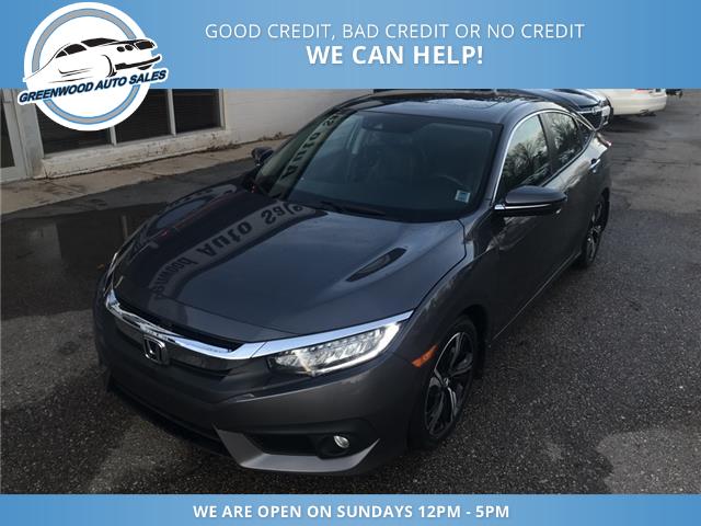 2016 Honda Civic Touring (Stk: 16-00551) in Greenwood - Image 2 of 13