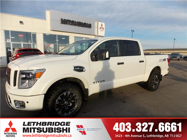 2017 Nissan Titan PRO-4X (Stk: P3961A) in Lethbridge - Image 1 of 17