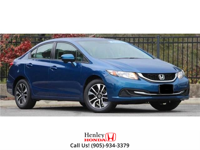 2015 Honda Civic Sedan SUNROOF | HEATED SEATS | BLUETOOTH | BACK UP (Stk: R9654) in St. Catharines - Image 1 of 1