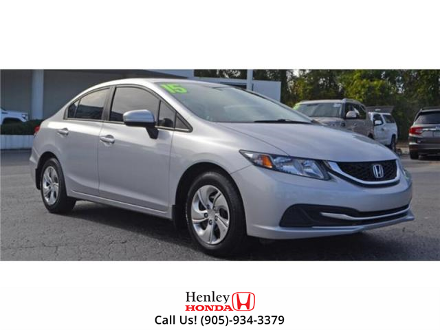 2015 Honda Civic Sedan BLUETOOTH | HEATED SEATS | BACK UP (Stk: R9655) in St. Catharines - Image 1 of 1