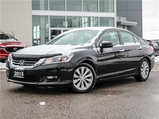 2015 Honda Accord EX-L (Stk: 19-1709B) in Ajax - Image 1 of 23