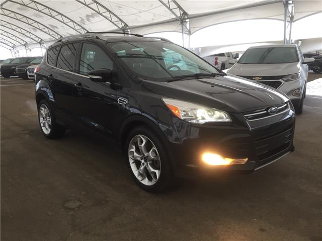 2015 Ford Escape Titanium (Stk: 180255) in AIRDRIE - Image 1 of 44