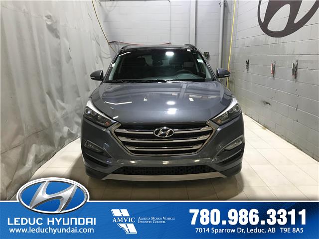 2017 Hyundai Tucson Limited (Stk: L0176) in Leduc - Image 1 of 7