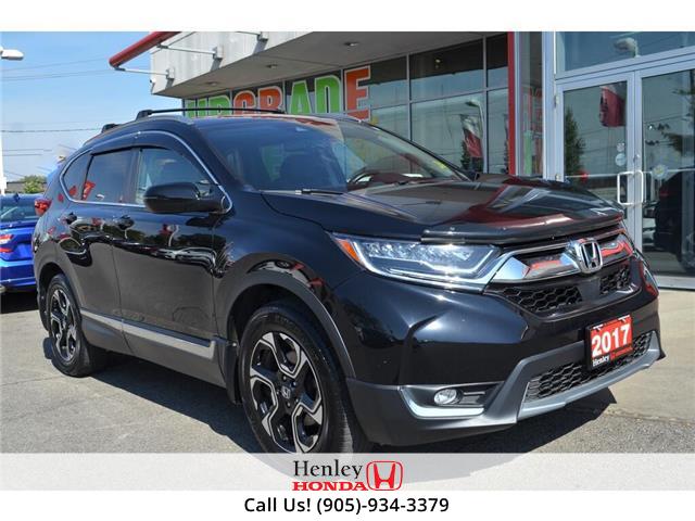 2017 Honda CR-V NAVI | LEATHER | HEATED SEATS | BLUETOOTH | BACK U (Stk: B0891) in St. Catharines - Image 1 of 32
