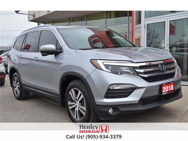 2018 Honda Pilot LEATHER | HEATED SEATS | BLUETOOTH | NAV (Stk: H18139A) in St. Catharines - Image 1 of 36