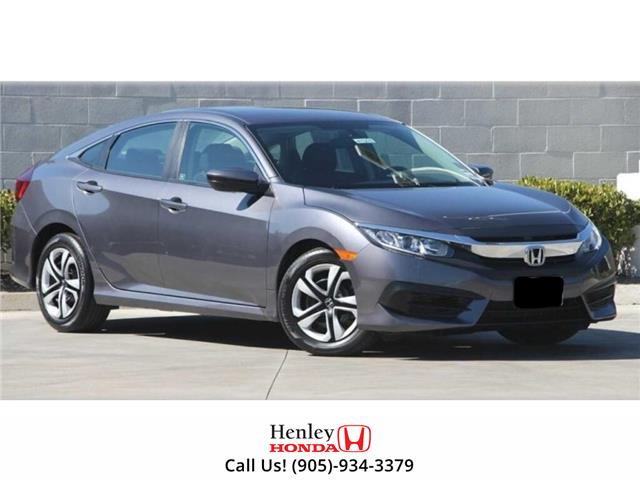 2016 Honda Civic Sedan SUNROOF | HEATED SEATS | BLUETOOTH | BACK UP (Stk: H18649A) in St. Catharines - Image 1 of 1