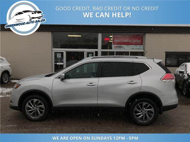 2015 Nissan Rogue SL (Stk: 15-17959) in Greenwood - Image 1 of 16