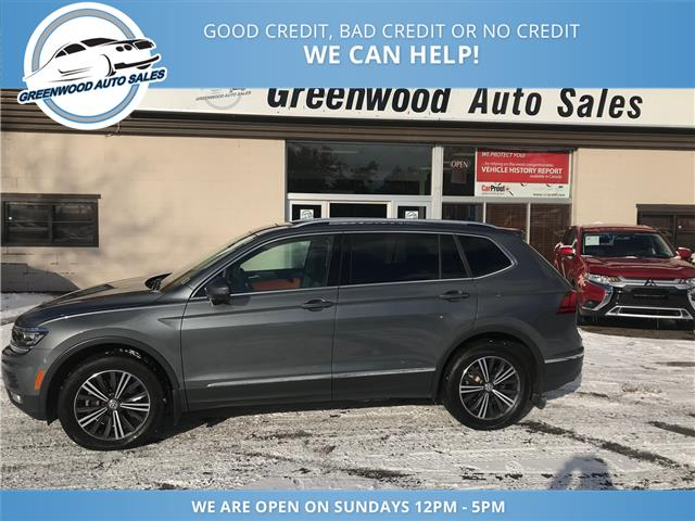 2018 Volkswagen Tiguan Highline (Stk: 18-33484) in Greenwood - Image 1 of 13