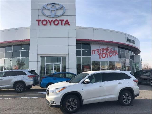 2015 Toyota Highlander LE (Stk: 312291) in Aurora - Image 1 of 15