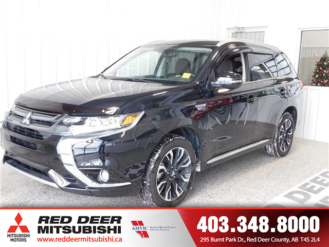 2018 Mitsubishi Outlander PHEV  (Stk: T187888) in Red Deer County - Image 1 of 17