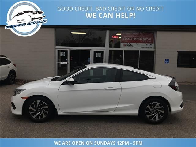 2016 Honda Civic LX (Stk: 16-01458) in Greenwood - Image 1 of 13