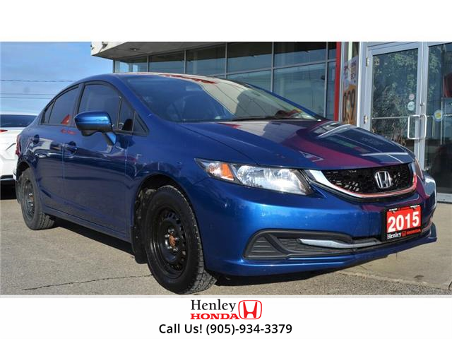 2015 Honda Civic Sedan SUNROOF | HEATED SEATS | BLUETOOTH | BACK UP (Stk: R9654) in St. Catharines - Image 1 of 26