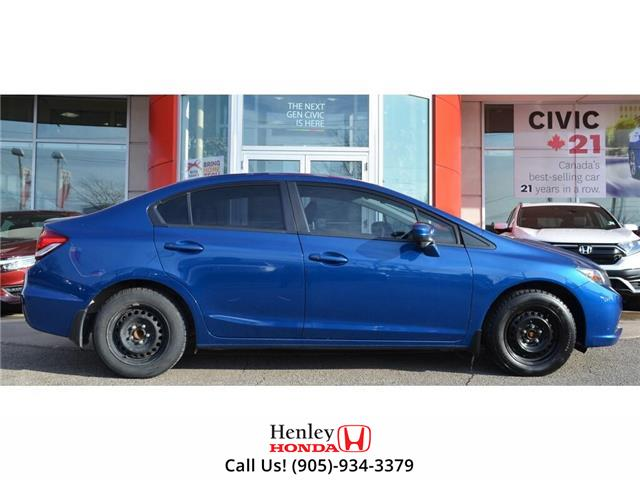 2015 Honda Civic Sedan SUNROOF | HEATED SEATS | BLUETOOTH | BACK UP (Stk: R9654) in St. Catharines - Image 2 of 26