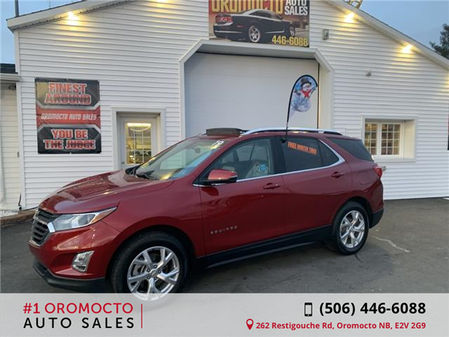 2019 Chevrolet Equinox LT (Stk: 852) in Oromocto - Image 1 of 20