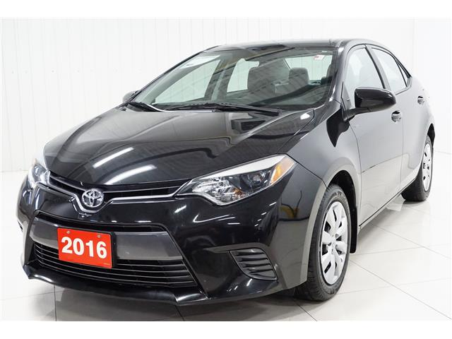 2016 Toyota Corolla LE (Stk: P5664) in Sault Ste. Marie - Image 1 of 20