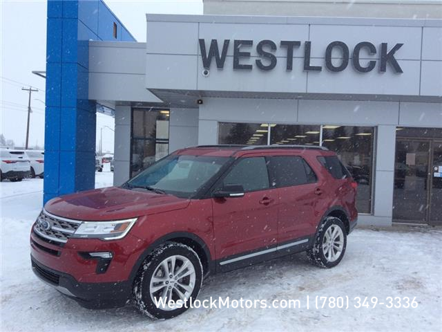 2018 Ford Explorer XLT (Stk: T1935) in Westlock - Image 1 of 16